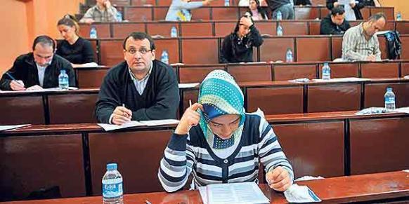 GÜVENDER rejected claims that teachers affiliated with its member institutions are involved in cheating scandal. (Photo: Today's Zaman)