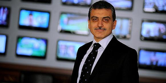 Samanyolu Broadcasting Group (STV) head Hidayet Karaca was arrested on Dec. 14 over terrorism charges, sparking public outrage about press freedom in the country. (Photo: Today's Zaman)