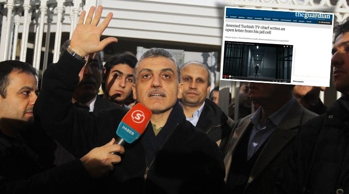 Arrested journalist Hidayet Karaca's letter detailing the threats that the media in Turkey face published by the Guardian, one of the leading British daily.