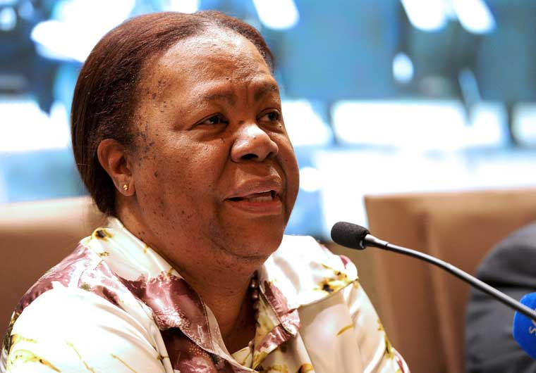 South African Science and Technology Minister Naledi Pandor