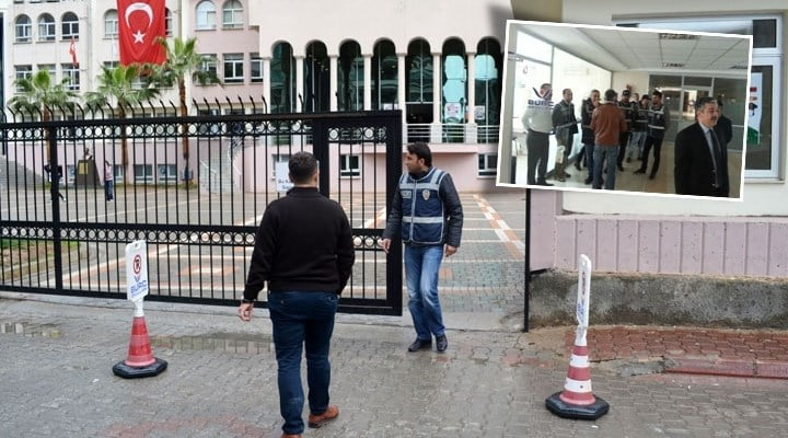 Four tax inspectors from the Finance Ministry with 40 police officers carried out a raid as part of the government-backed operation targeting the Hizmet movement at the private Burç High School in the Çukurova district of southern province of Adana, opened by volunteers of the Hizmet movement.