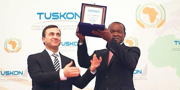 TUSKON has been promoting the improvement of Turkey's trade ties with Africa since 2005, which the government designated as the Year of Africa.(Photo: Today's Zaman, Kürsat Bayhan)