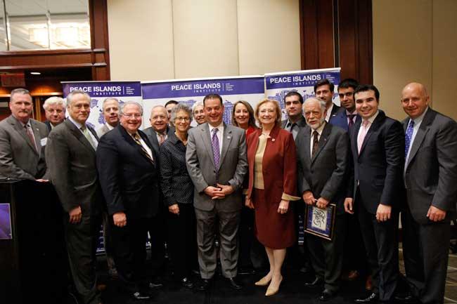 Peace Islands Massachusetts bestows Friendship Awards