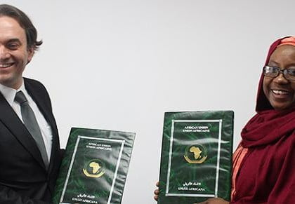 African Union and Kimse Yok Mu sign landmark agreement to further aid efforts in Africa