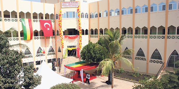 A Turkish school in Mali