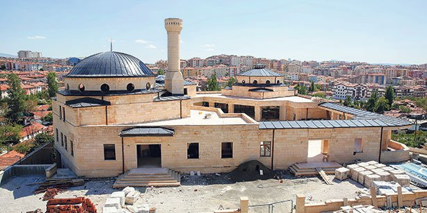 Turkey's first-ever complex housing both a mosque and a cemevi is seen in this photo.(Photo: Sunday's Zaman)