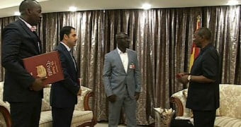 Guinean president thanks officials from Turkish schools for educational efforts