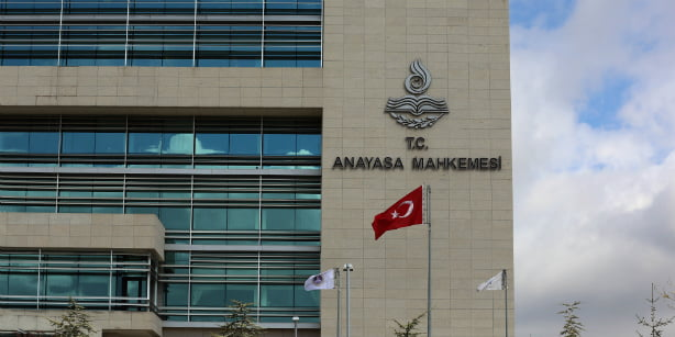 Headquarters of the Constitutional Court in Ankara. (Photo: Today's Zaman, Ali Ünal)