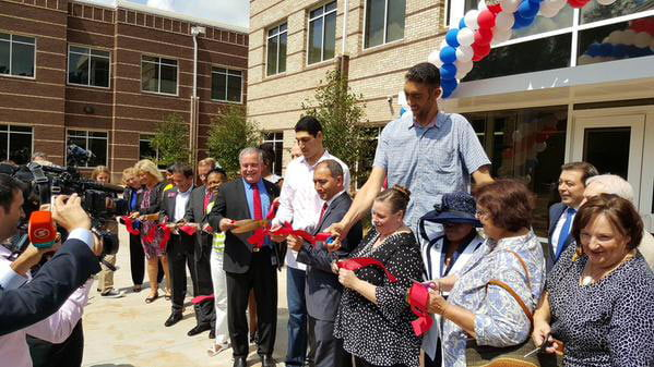 Fulton Science Academy loved hosting Enes Kanter and World's Tallest Man