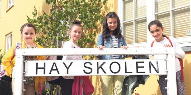 A Turkish school in Denmark has been ranked the most successful school in the country. (Photo: Cihan)