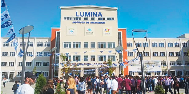 An inauguration ceremony for a Turkish school in Romania was held on Tuesday.