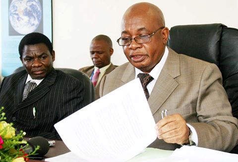 Zambian Education Minister Dr. John Phiri