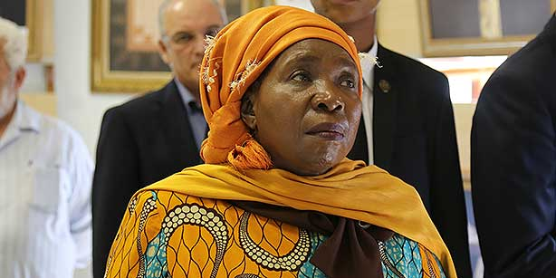 African Union Commission Chair Nkosazana Dlamini-Zuma. (Photo: Cihan)