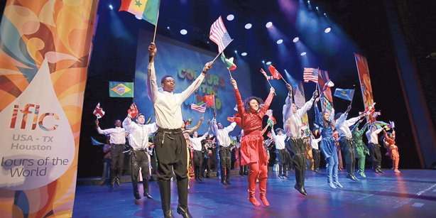 One hundred students from around the globe performed at the 14th edition of the International Language and Culture Festival, held in Houston, Texas. (Photo: Cihan)