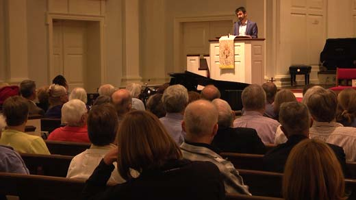 The Rumi Forum and First Presbyterian Church hosted a talk on religious extremism