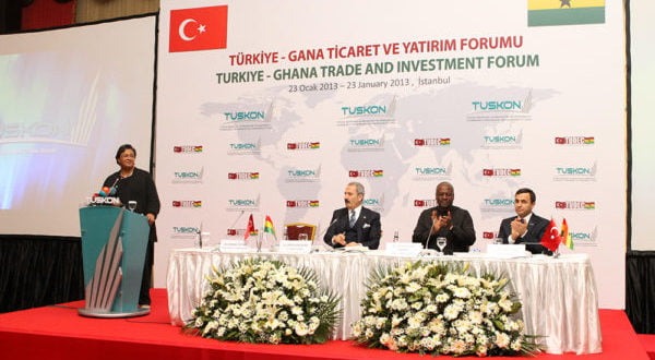 Developing Ghana; the role of Tudec and Galaxy İnt'l School
