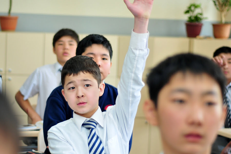 The Chingiz Aitmatov Kyrgyz-Turkish High School for boys in Bishkek is one of at least a dozen Gulen-linked schools and one university operating privately in Kyrgyzstan. Graduates from the Sebat foundation schools include Kadyr Toktogulov, Kyrgyzstan's current ambassador to the United States, and Mar Topoyev, who has worked in the Kyrgyz presidential and prime minister administrations. (Photo: Chingiz Aitmatov Kyrgyz-Turkish High School)