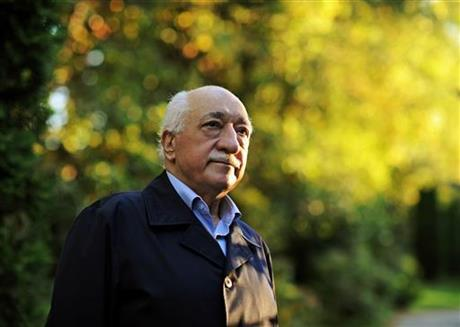 In this Sept. 24, 2013 file photo, Turkish Islamic preacher Fethullah Gulen is pictured at his residence in Saylorsburg, Pa. A lawyer for the Turkish government, Robert Amsterdam, said that