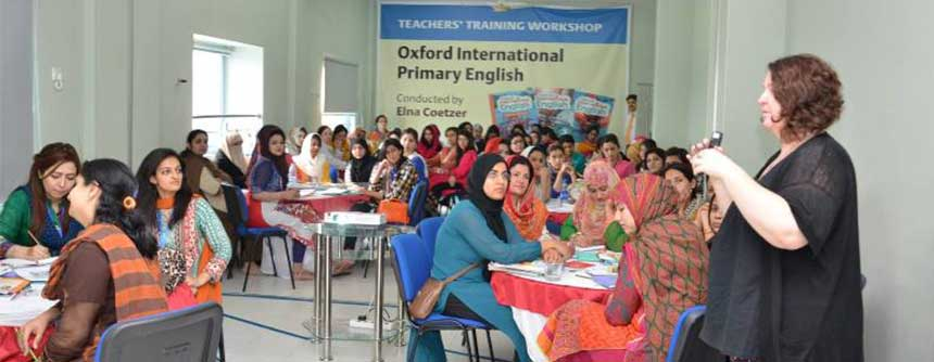 Teacher Development Workshop at PakTurk Islamabad