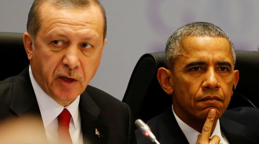 Turkey's President Tayyip Erdogan and U.S. President Barack Obama © Murad Sezer / Reuters