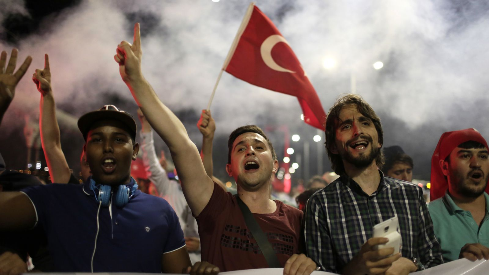 A kind of reverse-coup is underway in Turkey.(AP Photo/Petros Giannakouris)