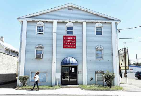 The Turkish Cultural Center of Connecticut on Campbell Avenue in West Haven. Arnold Gold — New Haven Register