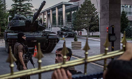 Army Headquarters in Ankara, Turkey © Getty Images