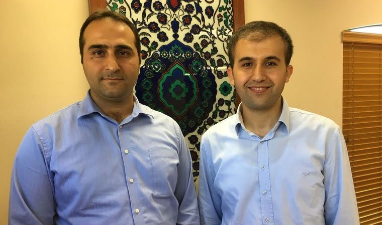 Yusuf Dundar (left), the outgoing executive director of the Raindrop Turkish Cultural Center in Broken Arrow, and Muhammet Ali Sezer, the incoming director, fear for their families in Turkey after a recent failed coup attempt.BILL SHERMAN/Tulsa World.