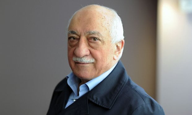 The Turkish government alleges that Fethullah Gülen, who lives in self-imposed exile in Pennsylvania, orchestrated the military coup attempt in July. Photograph: Selahattin Sevi/AFP/Getty Images
