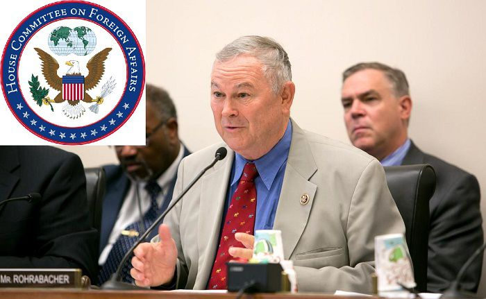 Dana Rohrabacher is a US Representative and chairs the United States House Foreign Affairs Subcommittee on Europe, Eurasia and Emerging Threats.
