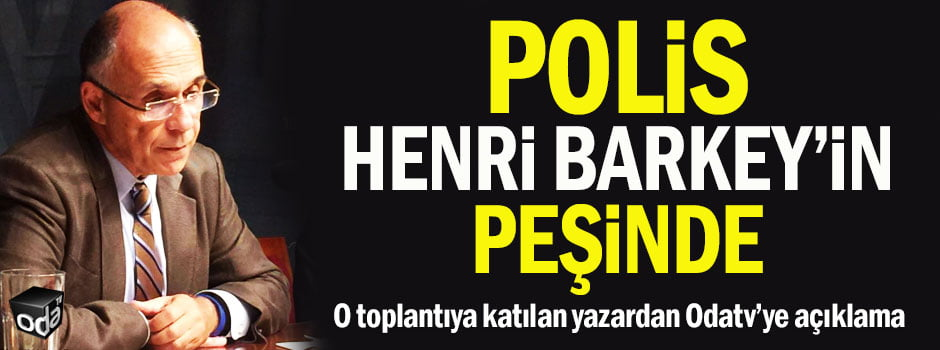 """Another headline reads, """"Police is after Henri Barkey"""""""