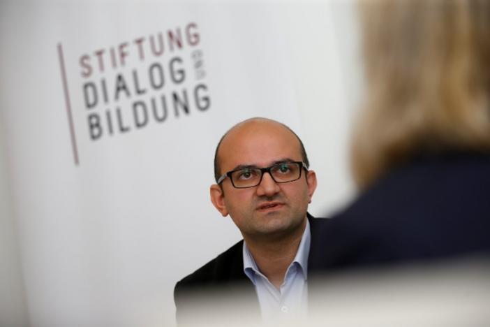 Ercan Karakoyun speaks during an interview with Reuters in Berlin, Germany, August 17, 2016.       REUTERS/Axel Schmidt