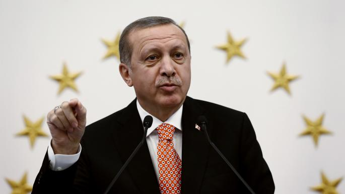 President Erdogan's Islamist administration has already jailed 35,000 people, including judges and journalists, in a clampdown on free speech YASIN BULBUL/ASSOCIATED PRESS