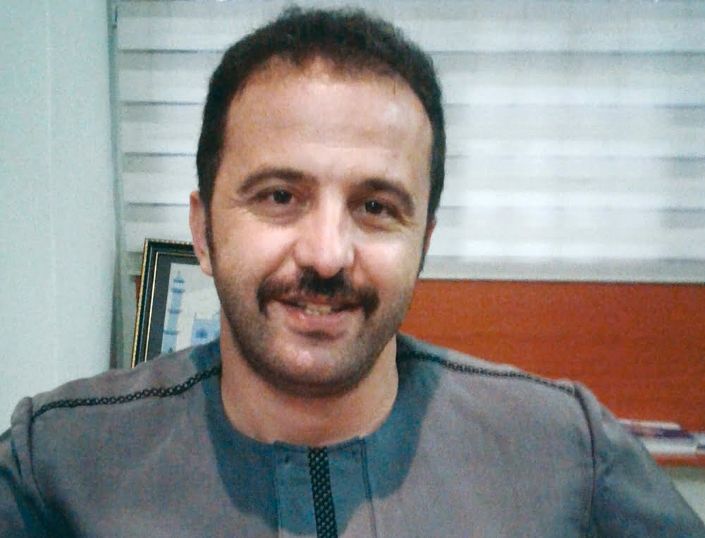 Behlul Fatih Basaran, coordinator of the Nigerian Turkish International Colleges' Foundation