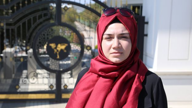 Post-coup politics has forced Nilufer Demircioglu to change her study plans