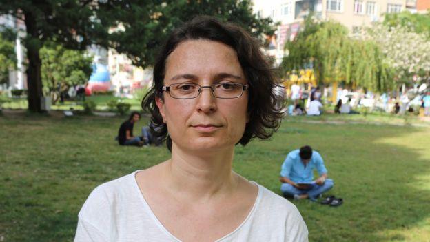 Prof Derya Keskin lost her university job after signing a peace declaration