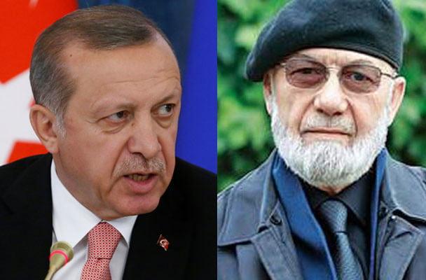 President Erdogan and ormer general Adnan Tanriverdi