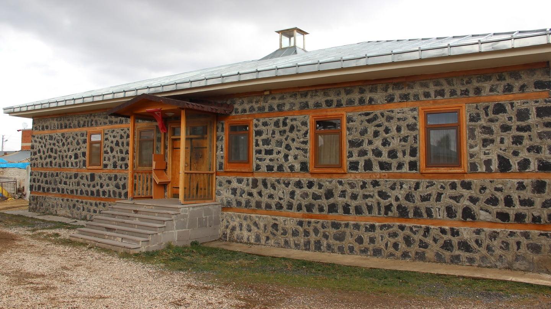 Fethullah Gulen's family home in Korucuk, eastern Turkey. Photograph: Stephen Starr