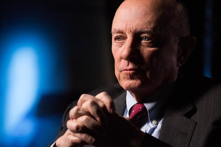 Former Central Intelligence Agency Director James Woolsey.