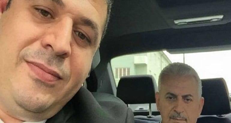 UETD's Chairman in Sweden, Özer Eken, with his friend Binali Yıldırım, Turkey's prime minister. Photo: Facebook