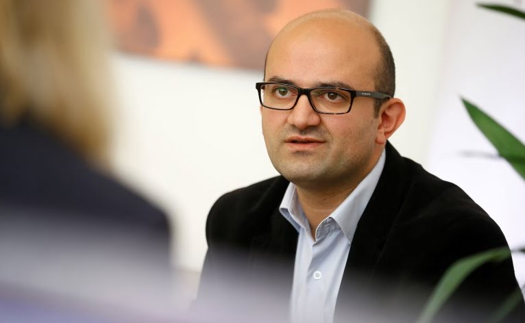 Ercan Karakoyun, chairman of the 'Dialogue and Eduction Trust' in Berlin, Germany. The 37-year-old, who is the public face of the movement of Muslim cleric Fethullah Gulen in Germany, says he has received several death threats since the aborted military coup in Turkey.