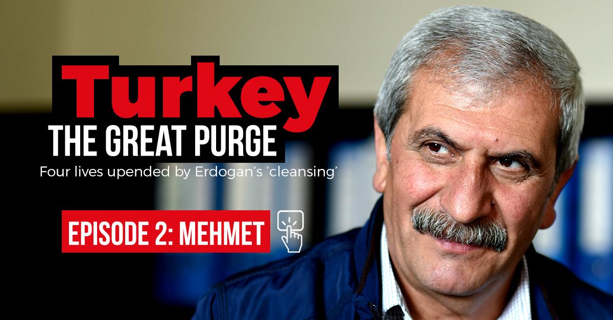 Mehmet Sah Teke, the former Kurdish mayor-in-hiding.