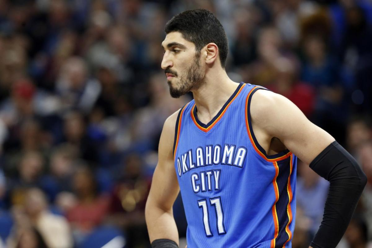 Thunder center Enes Kanter, who was detained in a Romanian airport last week after the Turkish government canceled his passport, is being labeled a terrorist by government officials in his home country. Kanter is an outspoken critic of Turkey's president Recep Tayyip Erdogan.