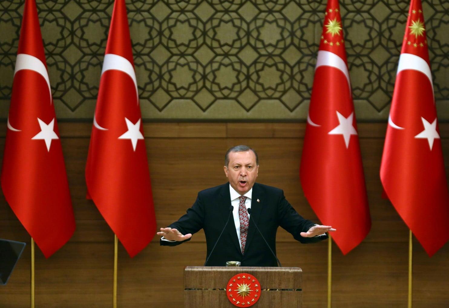 Turkish President Recep Tayyip Erdogan. (Adem Altan / Agence France-Presse