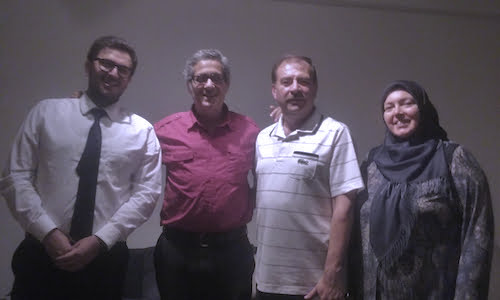 From Left, Turkish Cultural Center Executive Director M. Fethullah Onal, Kings County Politics Publisher And Editor-In-Chief Stephen Witt, Turkish Businessman Haldun And His Wife, Funda.