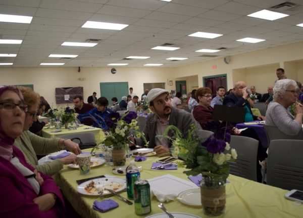 About 100 people attended Peace Islands Institute's third annual Iftar at the township Community/Senior Center June 17.
