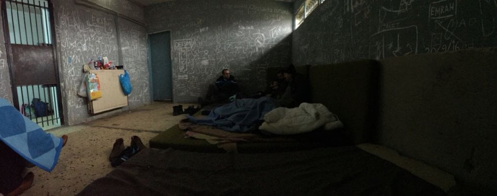 Many Turkish refugees say they felt safer when they were detained in dirty, cramped conditions in a Greek prison than when they were free citizens in their own country. (Picture: Isabelle Gerretsen)