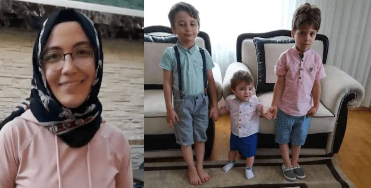 The news outlet identified the missing as 36-year-old Hatice Akçabay and her three sons, seven-year-old Ahmet Esat, five-year-old Mesut and one-year-old Aras.