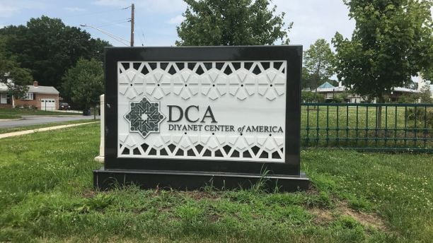 The Diyanet Center is located just outside Washington, D.C., in Lanham, Maryland.