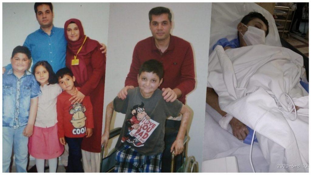 Mehmet Akif Özdağ and his family.